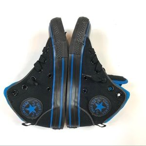 Converse Mid Top Chuck Taylor All Star Black/Blue